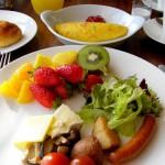妻の朝ご飯