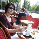カフェ・ロトンドで
